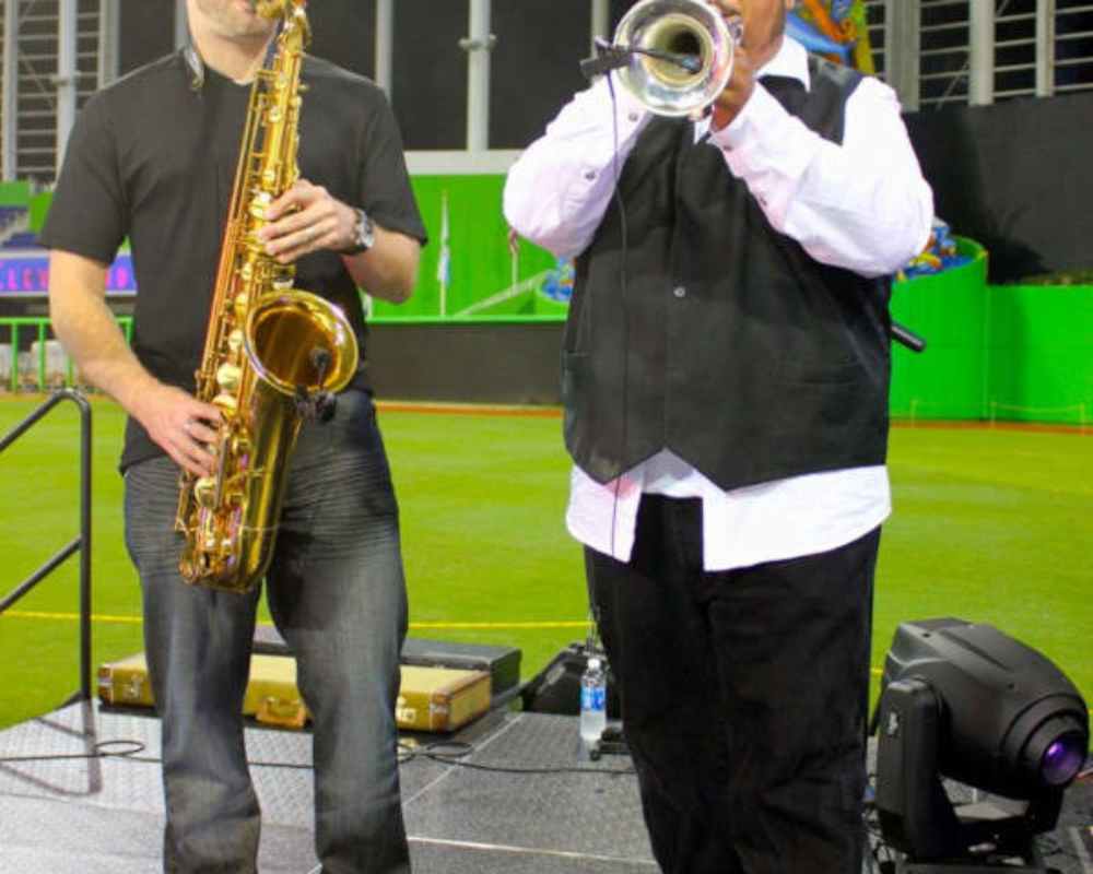 Sax at the Stadium