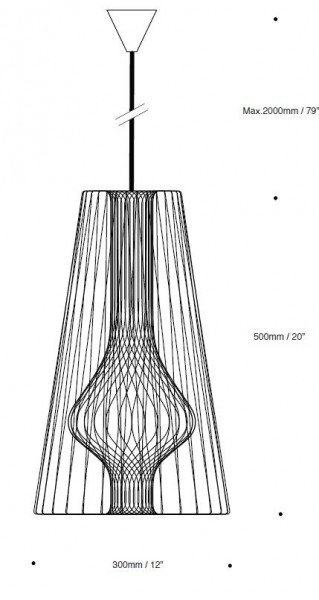 Decode Wire Light Pendant Light