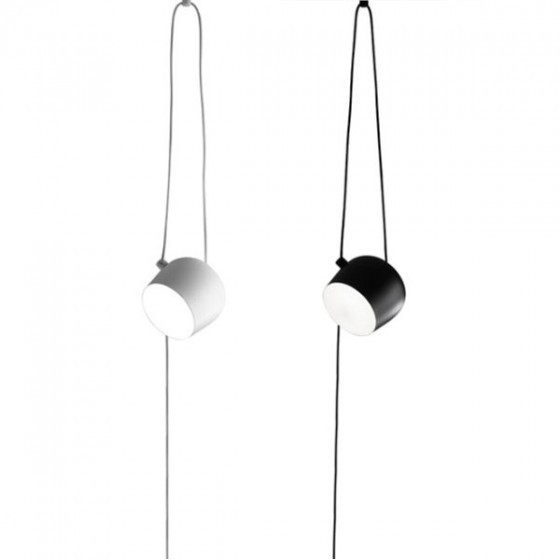 Flos Aim Small Suspension Light with Cable & Plug