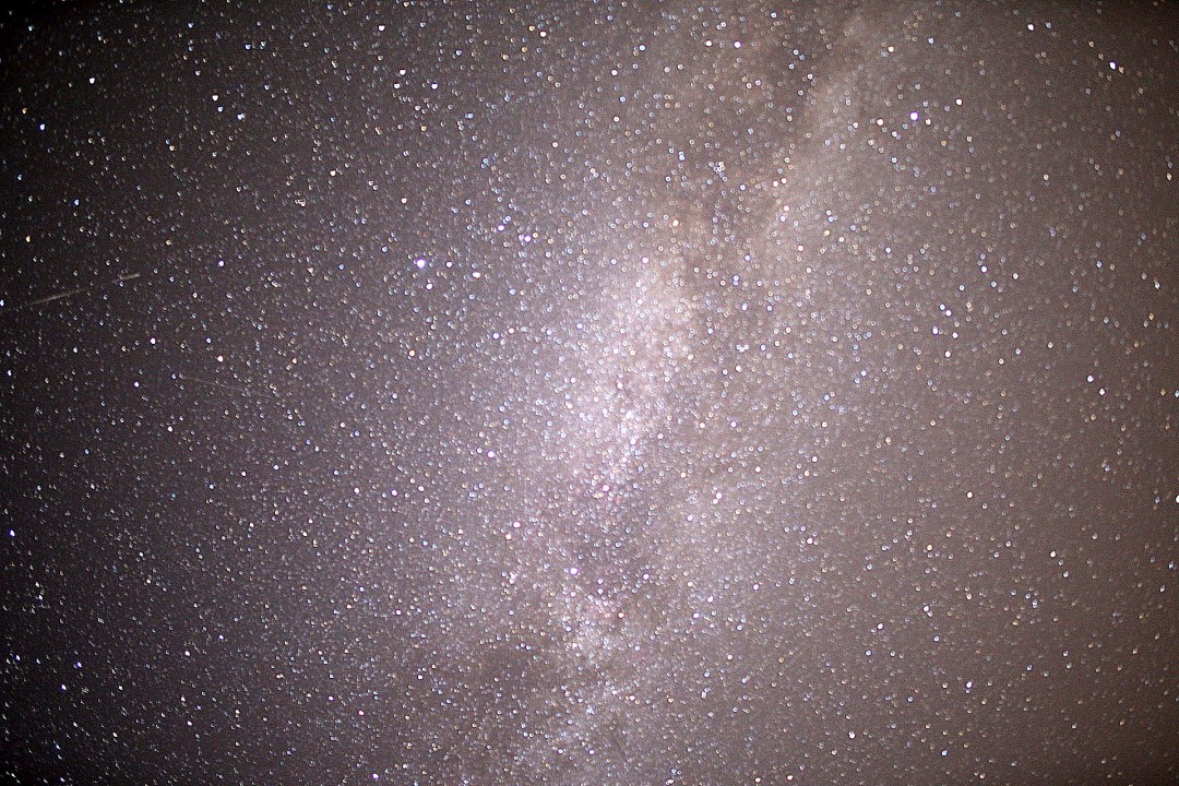 Milky Way from Ryzoviste, Czech Republic. Picture taken July, 2015.