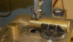 Cutting barrel blank