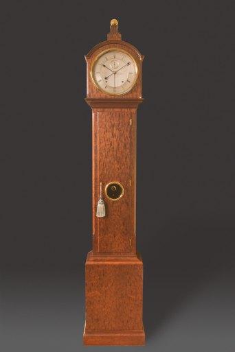 Year Running Floor Clock
