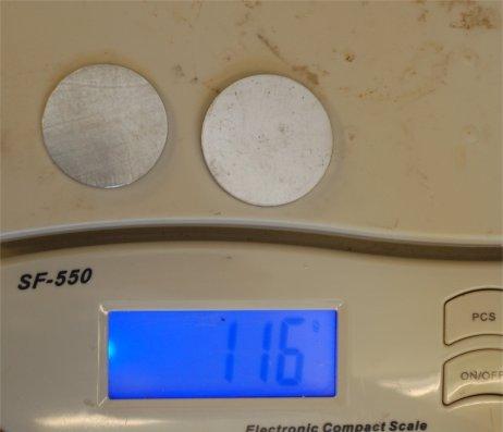 Pt weight
