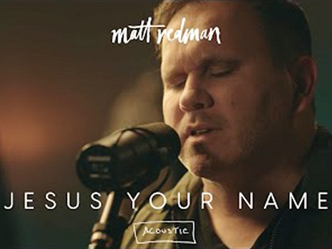 Jesus your name by Matt Redman (Verse 1) O Your name, is my first defense