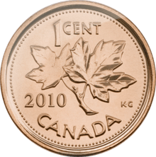 220px-Canadian_Penny_-_Reverse