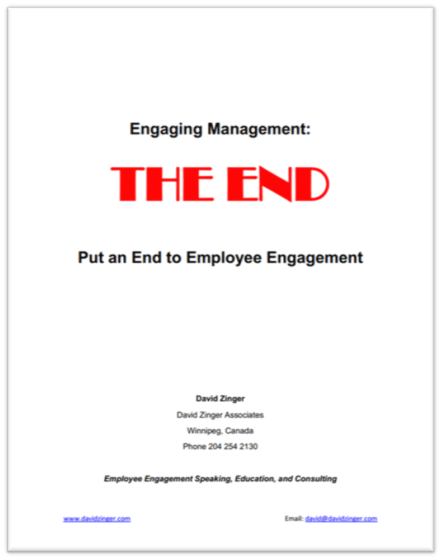 Employee Engagement ASTD Book Chapter Cover