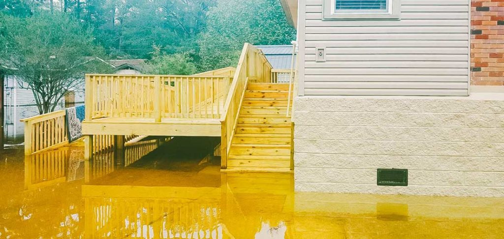 flooded home elevated by davie shoring