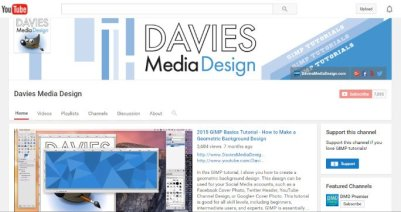 Davies Media Design YouTube Channel