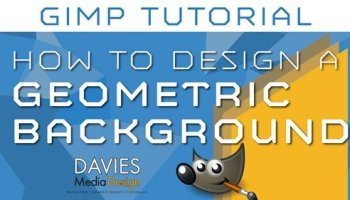 How to design a business card in gimp tutorial davies media design how to make a geometric background design in gimp reheart Image collections