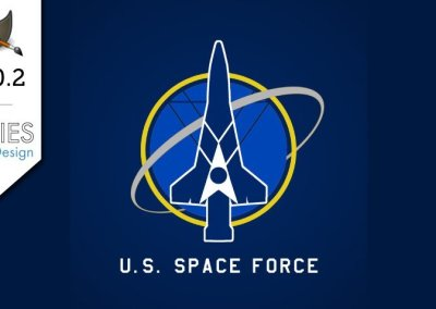GIMP 2.10.2 Tutorial: U.S. Space Force Vector Style Logo