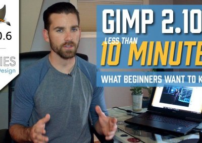 GIMP in Less Than 10 Minutes: What Beginners Want to Know