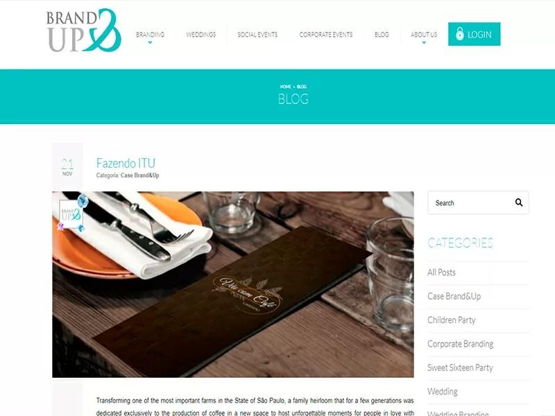 Blog Americano – Brand & Up