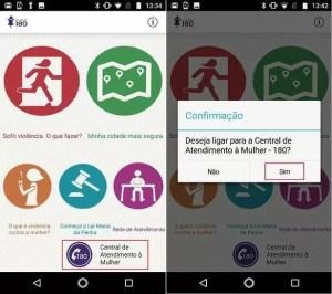 Clique 180: como usar aplicativo que combate a violência contra mulher 2