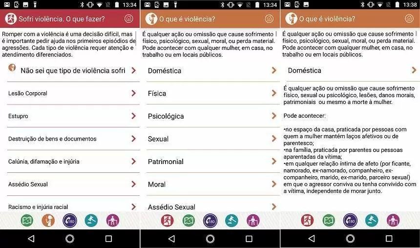 Clique 180: como usar aplicativo que combate a violência contra mulher 4