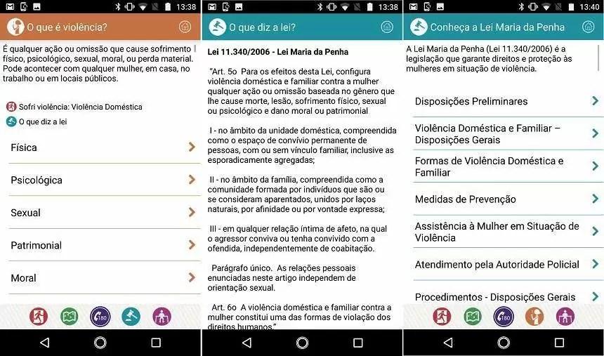 Clique 180: como usar aplicativo que combate a violência contra mulher 5