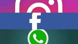 Facebook, WhatsApp e Instagram passam por instabilidade