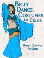 Coloring Book by Dawn Devine ~ Davina