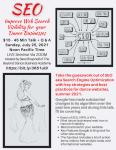 DIY SEO Workshop for Belly Dancers, 2021