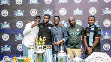 After The Tour Is The Afterparty: Football Lovers Relish Night Out With Man. City Star, Micah Richards