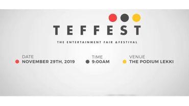 Omotola Jalade-Ekeinde, Craig Fenton, Ali Baba, Idris Olorunnimbe, Ayo Subair for the Most Important Show Biz Event of the Year
