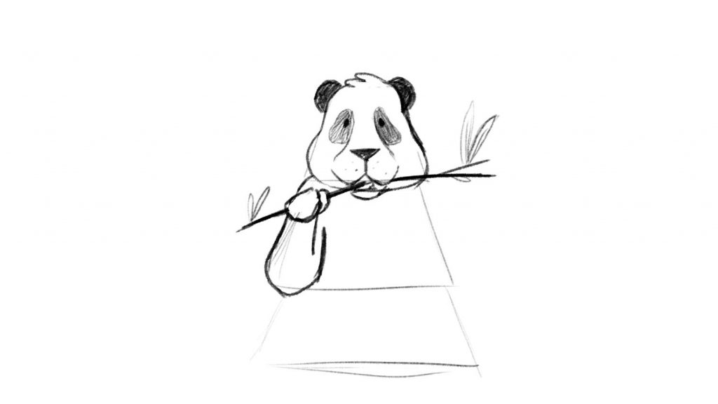 Tracing a panda with iphone app