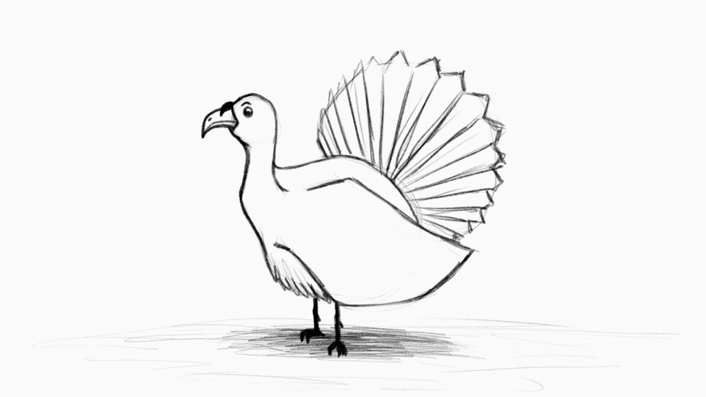 Use app to learn how to trace turkey