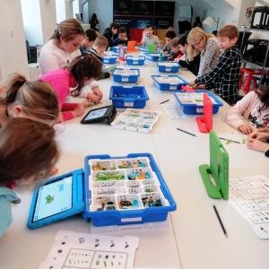 GameCity LEGO Coding Workshop im DaVinciLab