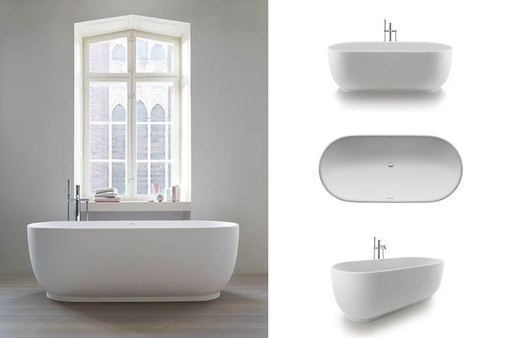 DURAVIT The Luv bathtub has a surprisingly soft feel The