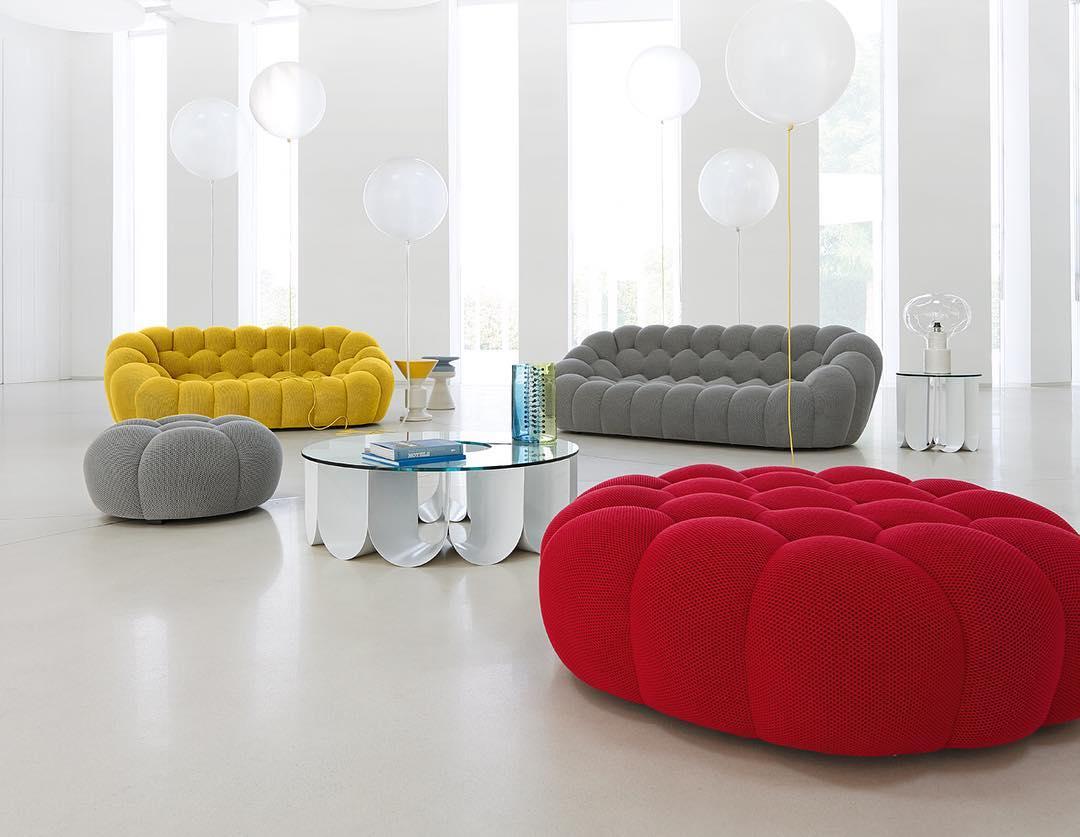 bubble sofa roche bobois cost sleeper san go reminiscent of a sea sponge the playful