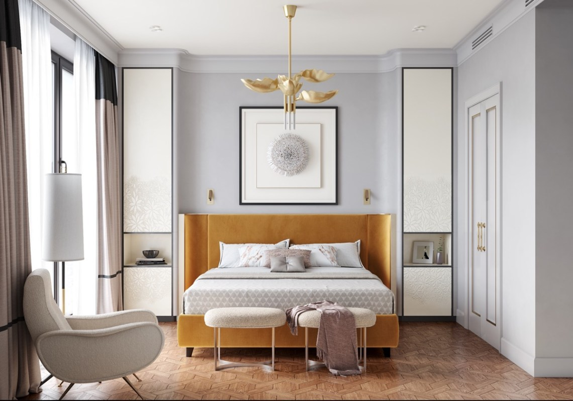 HOME DESIGNING: 40 Transitional Bedrooms That Beautifully ...