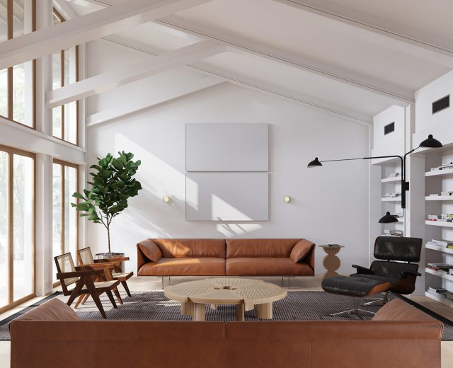 HOME DESIGNING: A Mesmerising Marriage Of Mid Century And ...