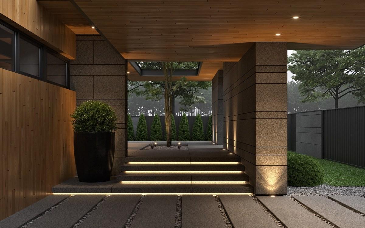 Home Designing 51 Fantastic Front Door Entrance Ideas With Tips | Front Door Stairs Design | Main Door Stair | 2Nd Floor | Villa | Brick | Residential