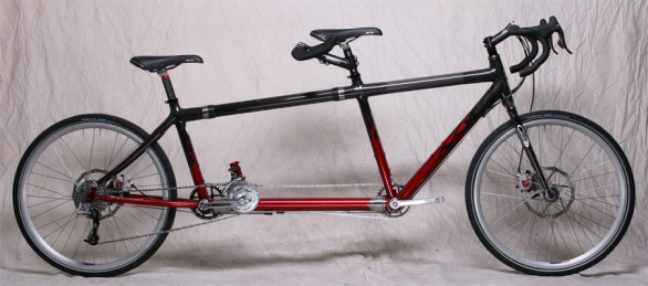 S&S Coupled Carbon Fiber Tandem Bicycle