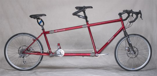 S&S Coupled Tandem Bicycle
