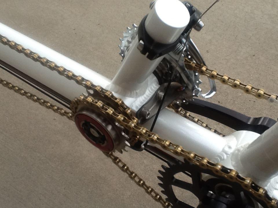 daVinci Designs  Performance Handbuilt Tandem Bicycles  Independent Coasting Drivetrain
