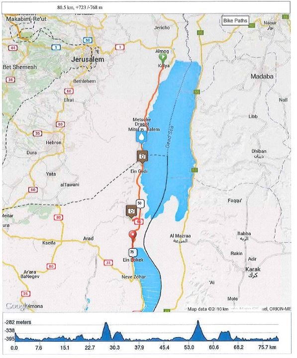 Day 4 - Along the Dead Sea