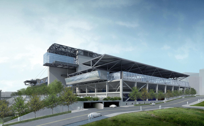 臺北市網球中心   達觀規劃設計