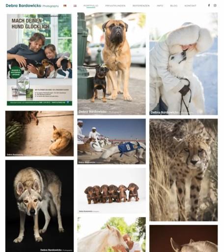 Debra Bardowicks Photography - portfolio homepage