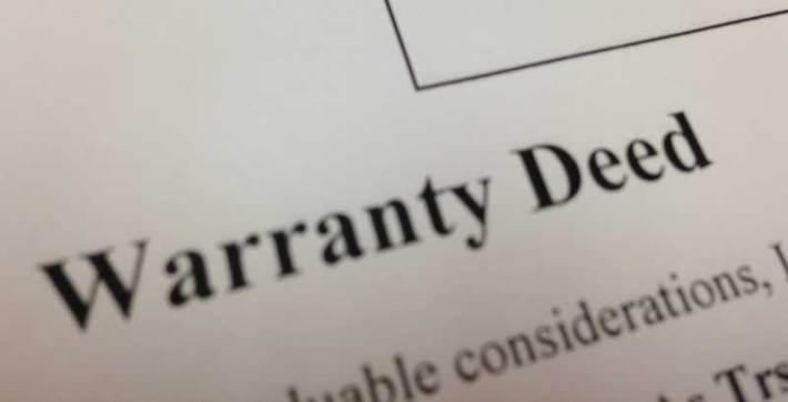 Warranty Deeds