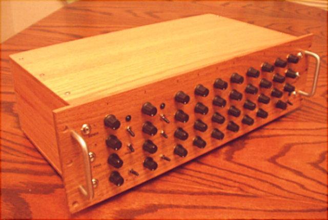 wooden rack mount