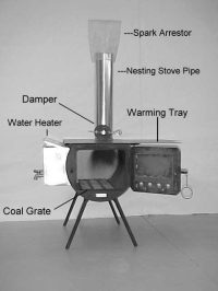 Wood Burning Camp Stove - Davis Tent