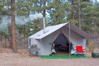 Canvas Wall Tent 4 Basic Tent - Davis Tent