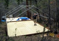 Wall Tent Frame - Canvas Frame Tent - Davis Tent