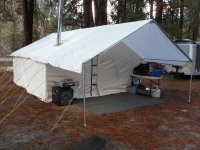 Canvas Tents For Sale - Outfitter Tents -Davis Tent & Awning