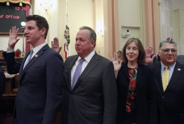 Dodd Sworn In As State Senator