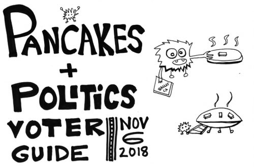 Pancakes and Politics Voter Guide — State, Yolo County and