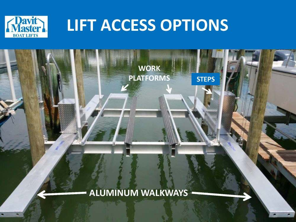 medium resolution of these boat access products including work platforms aluminum walkways steps and boarding platforms come in mighty handy