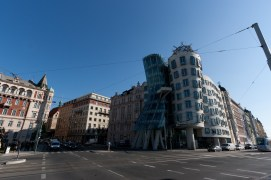 Dancing house (Ginger & Fred)