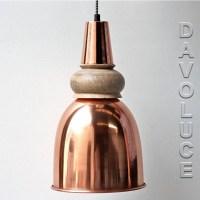 Solid Copper & Timber Pendant lights Australia   Davoluce ...