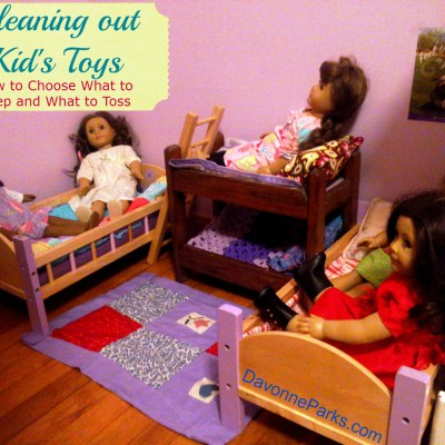 Cleaning Out Kids' Toys – Tips and New Assignment